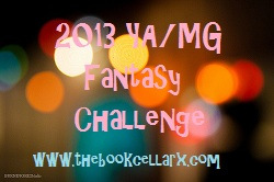 YA and MG Fantasy Challenge 2013