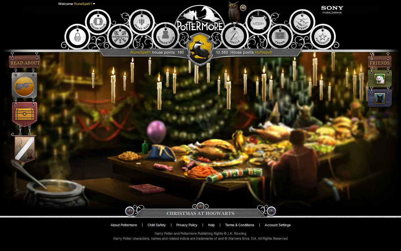 Pottermore is Open!