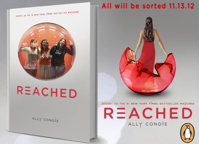 Reached by Ally Condie Bubble Cover