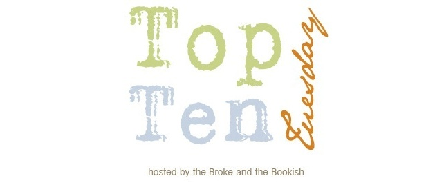 Top Ten Tuesday (2): Most Anticipated Books For 2013