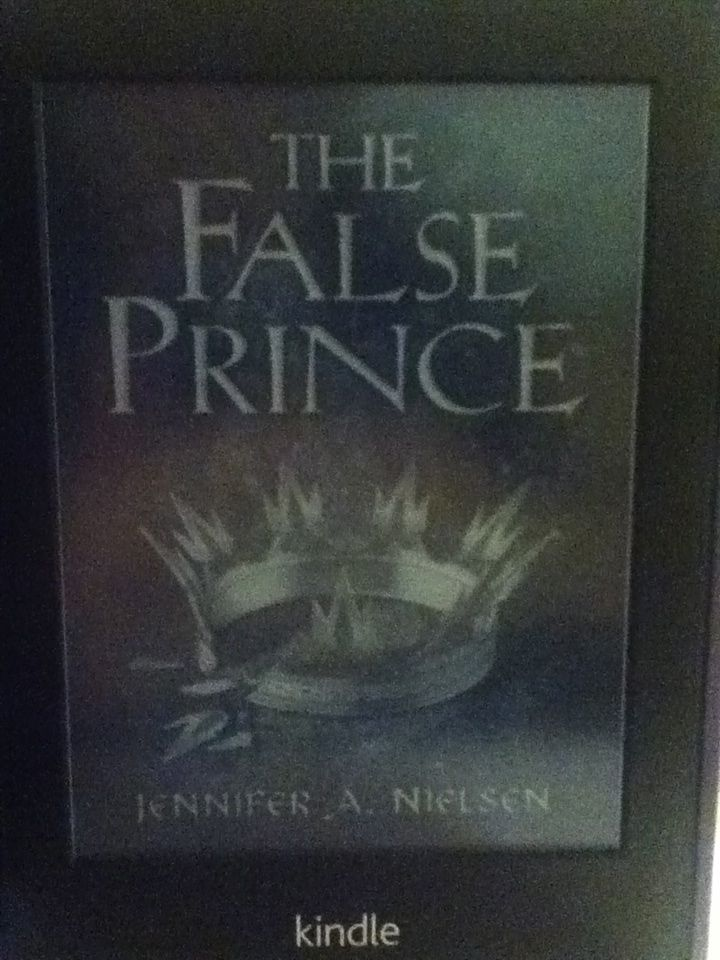 the false prince by jennifer a nielsen kindle cover