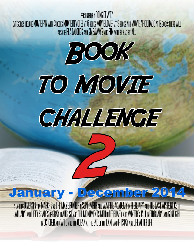 Book to Movie Challenge 2014