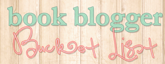 Book Blogger Bucket List