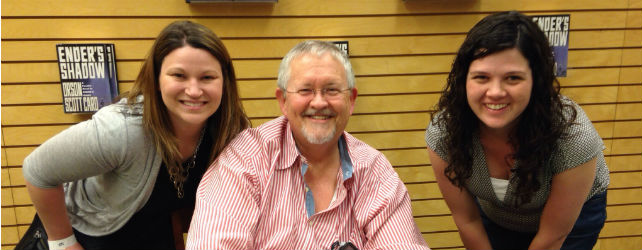 Orson Scott Card Book Signing