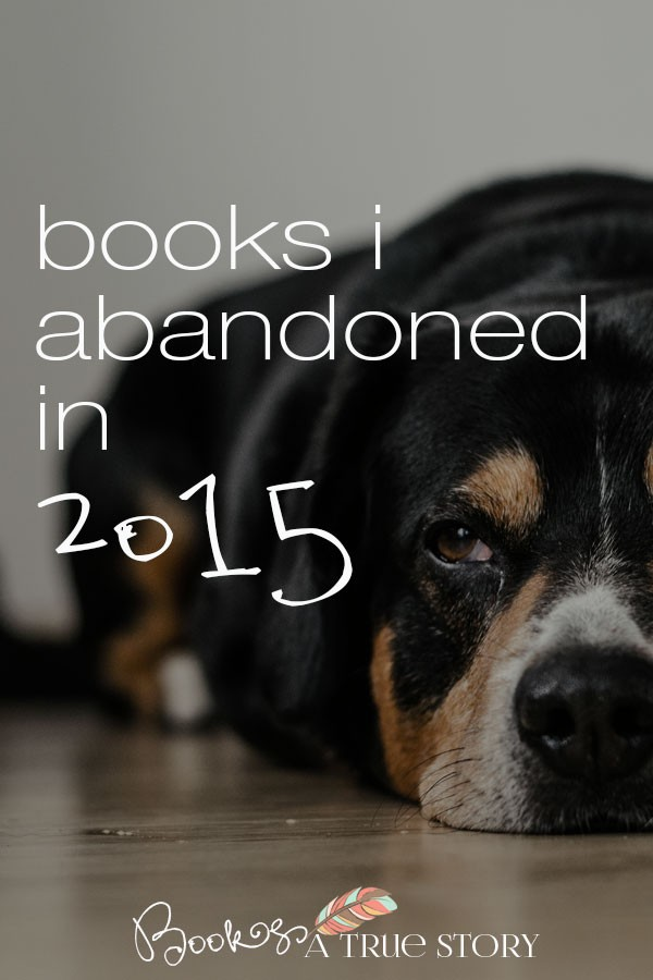 Books I Abandoned in 2015