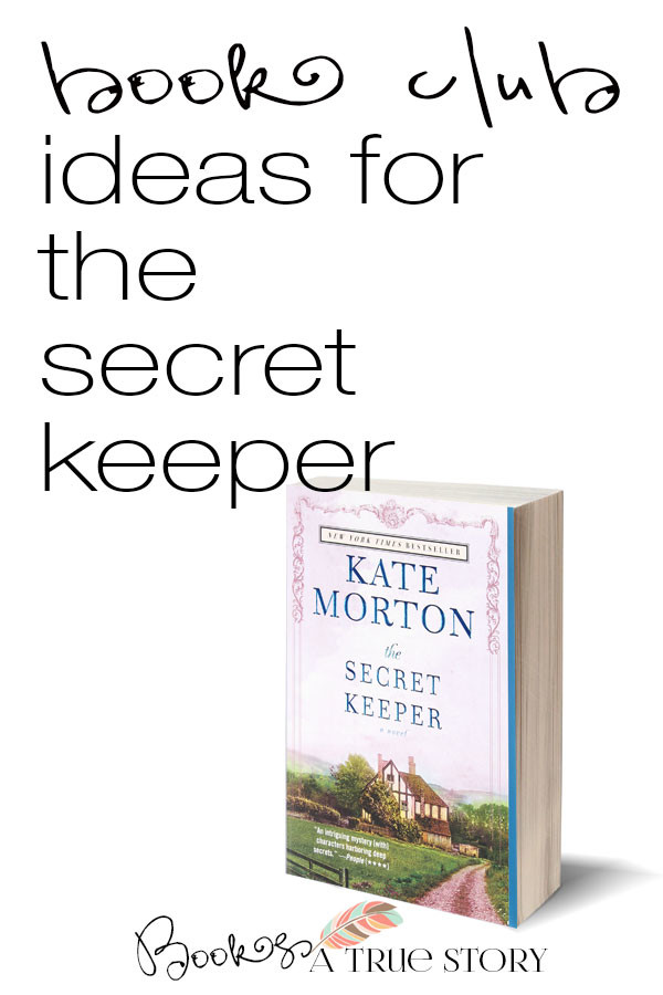 Book Club Ideas for The Secret Keeper by Kate Morton