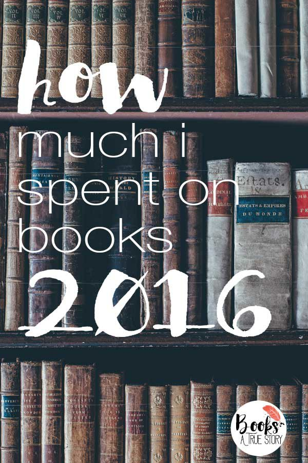 How Much I Spent on Books in 2016