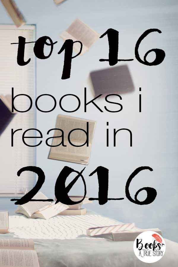 Top 16 Books I Read in 2016