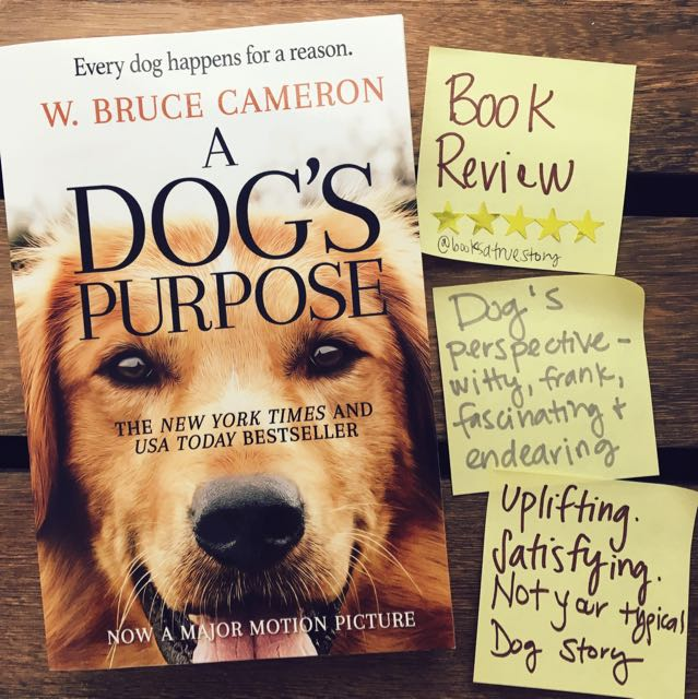 Book Review A Dog's Purpose W Bruce Cameron