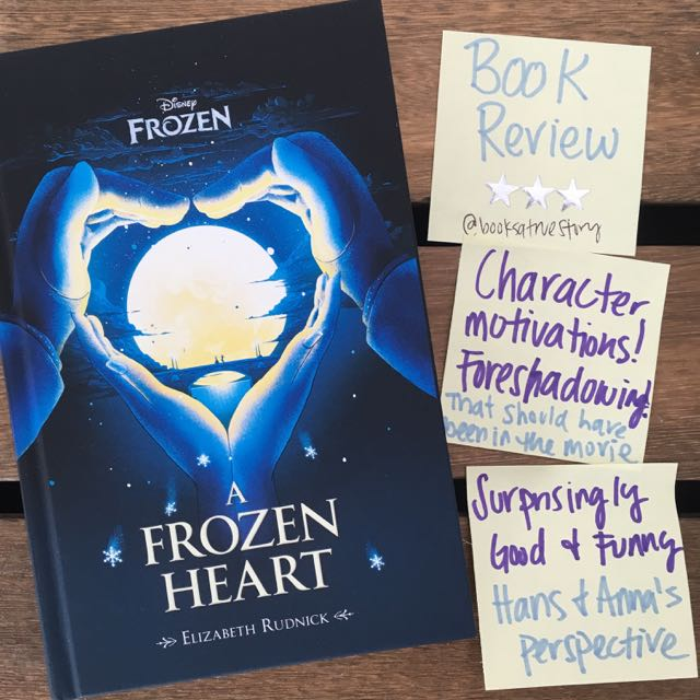 Book Review A Frozen Heart Disney Elizabeth Rudnick